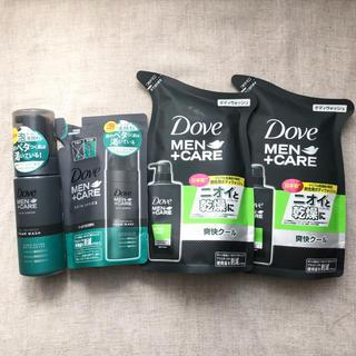 ユニリーバ(Unilever)のダヴメン+ケア 泡洗顔料+ボディソープ詰替 計4点セット(ボディソープ/石鹸)
