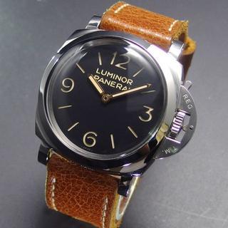 パネライ(PANERAI)の美品 N番 国内正規品 パネライ PAM00372 3デイズ アッチャイオ (腕時計(アナログ))