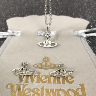 ヴィヴィアンウエストウッド(Vivienne Westwood)の新品 ネックレスピアスセット シルバー(ネックレス)