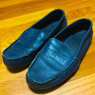 ポロラルフローレン(POLO RALPH LAUREN)の『POLO RALPH LAUREN』レザードライビングシューズ ローファー(ローファー/革靴)