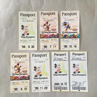 ディズニー(Disney)のディズニー チケット 7枚 使用済(その他)