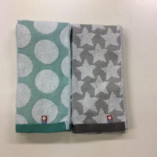 イマバリタオル(今治タオル)のフェイスタオル 今治タオル まとめて  2枚セット 日本製 バスタオル ブランド(タオル/バス用品)