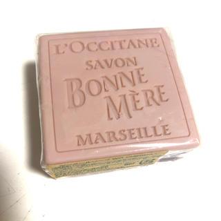 ロクシタン(L'OCCITANE)の新品 未開封 ロクシタン ワイルドローズ 石鹸(ボディソープ/石鹸)