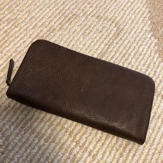 ツチヤカバンセイゾウジョ(土屋鞄製造所)の土屋鞄製造所 トーンオイルヌメ クッションファスナー 長財布(財布)