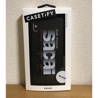 サカイ(sacai)のsacai iPhone ケース (iPhone Xs Max用)(iPhoneケース)