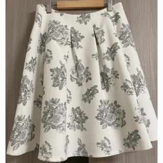 ダズリン(dazzlin)の☆送料無料☆dazzlin花柄フレアスカート(ひざ丈スカート)