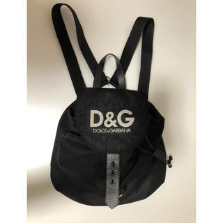ドルチェアンドガッバーナ(DOLCE&GABBANA)のD&G  黒 リュック バックパック 海外で購入(リュック/バックパック)