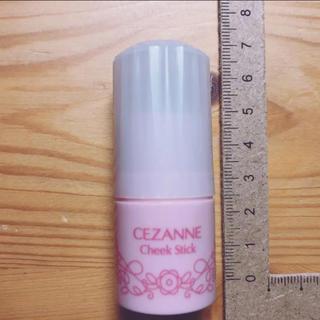 セザンヌケショウヒン(CEZANNE(セザンヌ化粧品))のセザンヌチークスティック 01番ピーチピンク(チーク)