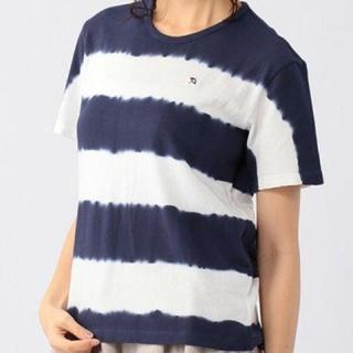 アーノルドパーマー(Arnold Palmer)の新品 アーノルドパーマー シェアルック タイダイボーダー柄Tシャツ(Tシャツ(半袖/袖なし))