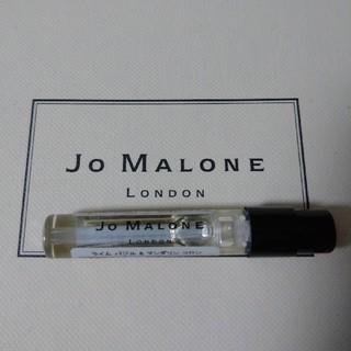 ジョーマローン(Jo Malone)の新品未使用ジョーマローン ライム バジル & マンダリン コロン1,5ml(ユニセックス)