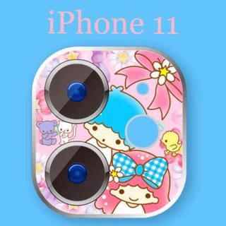 サンリオ(サンリオ)の〖新品〗iPhone11 カメラプロテクター キキララ✦カメラ保護(その他)