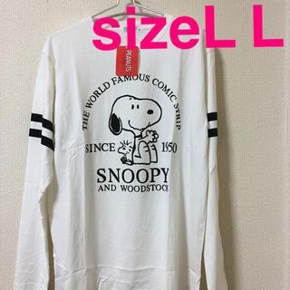 スヌーピー(SNOOPY)の新品*タグ付き SNOOPY ロンT(Tシャツ/カットソー(七分/長袖))