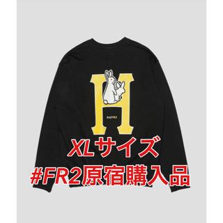ハフ(HUF)のHUF x #FR2 CLASSIC H CREW SWEAT BLACK(スウェット)