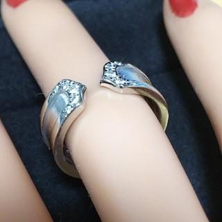 カルティエ(Cartier)のカルティエC2ダイヤ/訳あり、仕上げ済み(リング(指輪))