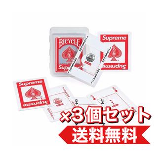 シュプリーム(Supreme)の【3個】Supreme Bicycle Clear Playing Cards(トランプ/UNO)
