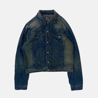 ヴェルサーチ(VERSACE)の【Versace Jeans Couture】LONG DENIM JACKET(Gジャン/デニムジャケット)