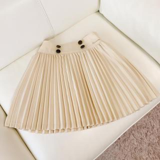 ポンポネット(pom ponette)のPom ponette junior プリーツスカート S (140cm) (スカート)