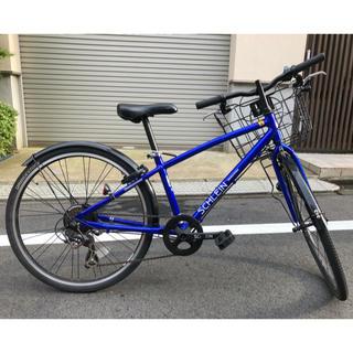 ブリヂストン(BRIDGESTONE)の【手渡し限定】SHL474 子ども用自転車 シュライン 24型 外装7段変速(自転車本体)