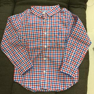 プチバトー(PETIT BATEAU)の美品 プチバトー  シャツ(Tシャツ/カットソー)