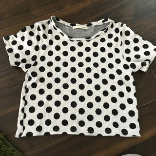 マウジー(moussy)のmoussy ショート丈Tシャツ(Tシャツ(半袖/袖なし))