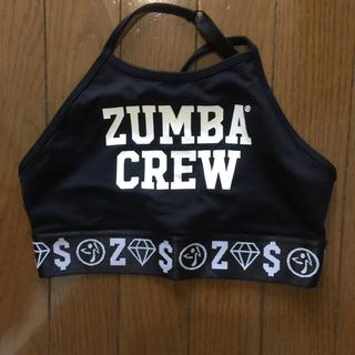 ズンバ(Zumba)のZUMBAジップアップウェア&ブラ(トレーニング用品)
