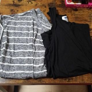 オールドネイビー(Old Navy)のトップス 2枚(Tシャツ(半袖/袖なし))