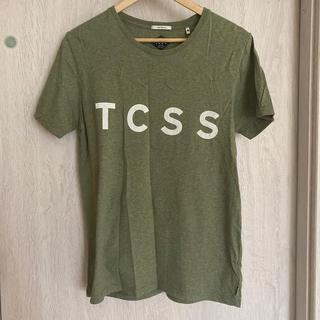 ロンハーマン(Ron Herman)のTCSS tcss カーキ グリーン TEE Tシャツ M(Tシャツ/カットソー(半袖/袖なし))