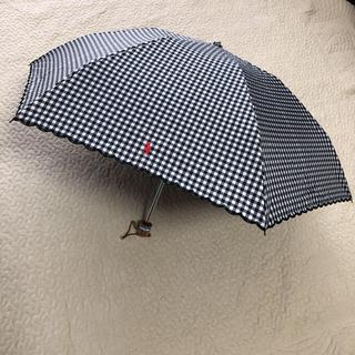 Ralph Lauren - 最終価格⭐︎新品 ラルフローレン日傘 ブラック✖️ホワイト ギンガムチェック