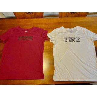 ヴィクトリアズシークレット(Victoria's Secret)のヴィクトリアシークレット ピンク Tシャツ NY購入(Tシャツ(半袖/袖なし))
