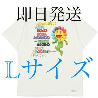 シュプリーム(Supreme)の✨村上隆 J balvin ヴァルヴィン ソングリスト Tシャツ Lサイズ✨(Tシャツ/カットソー(半袖/袖なし))
