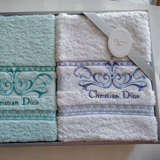 クリスチャンディオール(Christian Dior)の【027】Christian Dior フェイスタオル2枚組(タオル/バス用品)