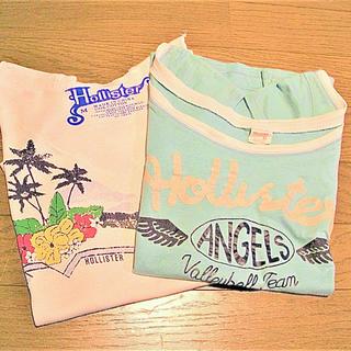 ホリスター(Hollister)の古着 HOLLISTER Tシャツ 2枚(Tシャツ(半袖/袖なし))