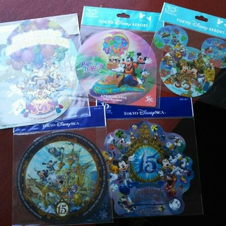 Disney - ディズニーランド 30周年 ディズニーシー 15周年 シール ステッカー