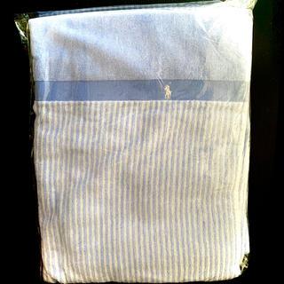 ラルフローレン(Ralph Lauren)のラルフローレン オックスフォードストライプ ハーフタオルケット(毛布)