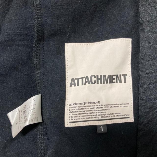 ATTACHIMENT(アタッチメント)の【再値下げ】ATTACHMENT  アタッチメント トラックジャケット サイズ1 メンズのジャケット/アウター(ブルゾン)の商品写真