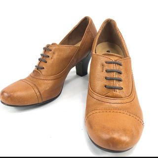 サヴァサヴァ(cavacava)の【未使用】サヴァサヴァ ショートブーツ ブーティ レザーブーツ 22,5cm(ブーツ)