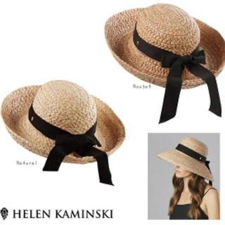 ヘレンカミンスキー(HELEN KAMINSKI)のヘレンカミンスキー 帽子 CLASSIC 5 ラフィアハット(麦わら帽子/ストローハット)