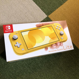 ニンテンドースイッチ(Nintendo Switch)のNintendo Switchライト イエロー 本体(携帯用ゲーム機本体)
