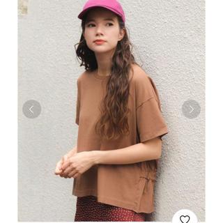 ニコアンド(niko and...)のniko and... バックペプラムTシャツ L 2枚セット(Tシャツ(半袖/袖なし))