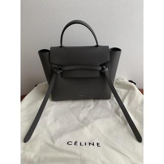 セリーヌ(celine)の【riff様専用】Celine セリーヌ ベルトバッグ マイクロ(ハンドバッグ)