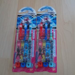バンダイ(BANDAI)の仮面ライダージオウ こども歯ブラシ三本セット ×2(歯ブラシ/歯みがき用品)