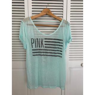 ヴィクトリアズシークレット(Victoria's Secret)のビクトリアシークレット PINKのXSのTシャツ(Tシャツ(半袖/袖なし))