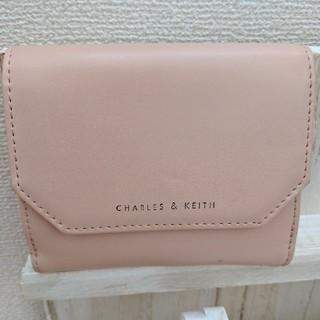 チャールズアンドキース(Charles and Keith)のCharlesandKeith二つ折り財布(財布)