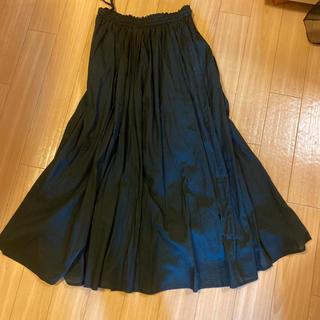 ロングスカート♡ブラック(ロングスカート)