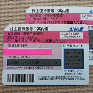 k4775様専用 ANA 株主優待券 2枚(航空券)