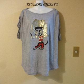 ツモリチサト(TSUMORI CHISATO)のTSUMORI CHISATOツモリチサト♡ファンキー絵柄Tシャツ(Tシャツ(半袖/袖なし))