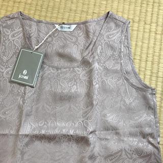 シルクカットソー(カットソー(半袖/袖なし))