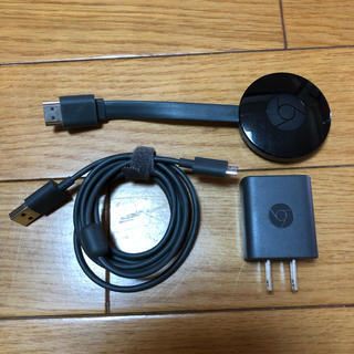 クローム(CHROME)のGoogle Chromecast クロームキャスト 第2世代 (映像用ケーブル)