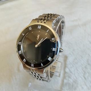 サンローラン(Saint Laurent)のイヴサンローラン 腕時計 美品  メンズクォーツ(腕時計(アナログ))