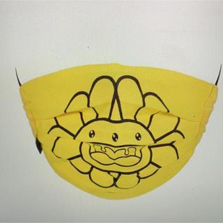 コムデギャルソン(COMME des GARCONS)のFlower Mask - マスク- 村上隆- ファッション小さい物(その他)